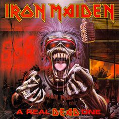 Iron Maiden Album Covers by Derek Riggs