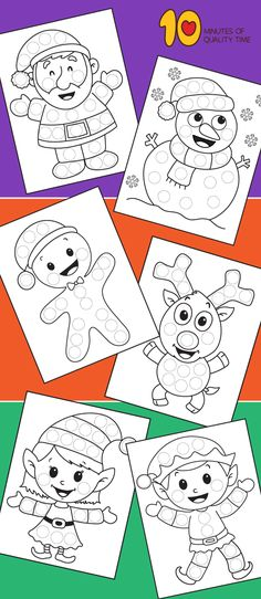 Christmas Do-a-Dot Printables New Years Activities, Fun Activities For Kids, Christmas Activities, Merry Little Christmas, Christmas Themes, Kids Christmas, Easy Arts And Crafts, Crafts To Do, Crafts For Kids