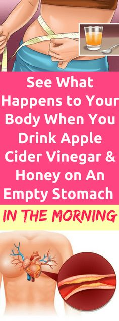 See What Happens to Your Body When You Drink Apple Cider Vinegar and Honey on An Empty Stomach in the Morning - Workout Hit
