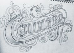 """Courage"" by Novia Jonatan"