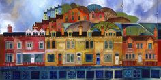 Kate Lycett art   Her textile design background is clear from the way she paints. She ...