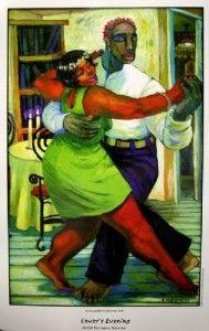 Lovers Evening - Terrance Osborne Art
