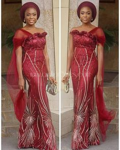 Latest trendy African styles 2019 - Reny styles Today we accompany to you the Latest trendy African styles 2019 that are apparent this accomplished anniversary that we Inspire you. It's 2019 people! African Lace Styles, African Lace Dresses, Latest African Fashion Dresses, African Inspired Fashion, African Print Fashion, Africa Fashion, African Prints, African Style, African Outfits