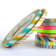 mt Super Slim 3mm Washi Tape Duo A — Omiyage - cute, clever & crafty goods!