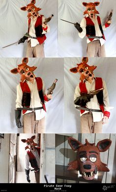 How foxy would look like if he stared in pirates of the Caribbean