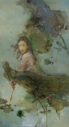 """""""The Chase"""" by Hu Jundi"""