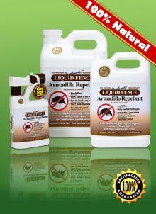 Animal Repellents - Eco-Friendly Armadillo Repellent