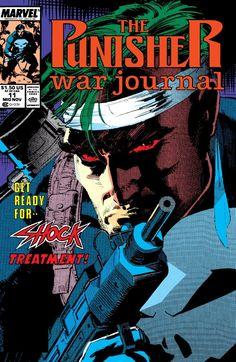 Punisher War Journal (1988-1995) #11