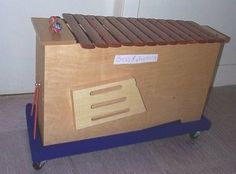 Make Your Own Rolling Cart for Bass Xylophones