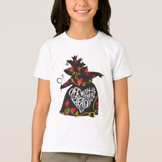 #The Queen of Hearts | Off with Their Heads T-Shirt - #cool #kids #shirts #child #children #toddler #toddlers #kidsfashion