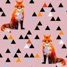geometric foxes
