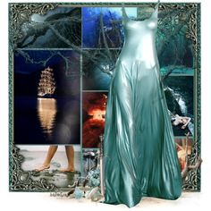 Fairy Tale Series: The Little Mermaid: Den Lille Havfrue Fairytale Fashion, Fairytale Dress, Greek Goddess Dress, Green Homecoming Dresses, Mermaid Outfit, Fantasy Gowns, Disney Inspired Outfits, Dress Up Outfits, Beautiful Gowns