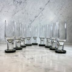 Superb Mid Cent French crystal champange flutes - Decorative Collective Antiques Online, Selling Antiques, One Hyde Park, Luxury Brand Names, Candy Brands, Glass Of Champagne, Large Crystals, Flutes, House Numbers