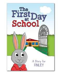 Look at this First Day of School Personalized Book on #zulily today!