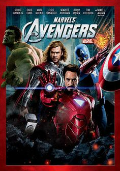 The Avengers  Captain America should be in the front!!!