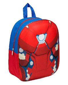 Avengers Marvel Iron Man Junior Backpack Marvel Iron Man Junior Backpack. Perfect for transporting your childs school essentials such as snacks, books, lunches, stationery and homework. This delightful backpack has one large zip pocket for s http://www.MightGet.com/january-2017-13/avengers-marvel-iron-man-junior-backpack.asp