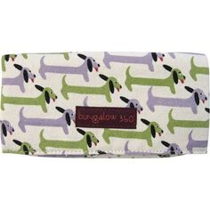 Natural Luxe - bungalow 360 - cotton canvas dog wallet