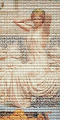 Counted Cross Stitch PATTERN Silver by by TheArtofCrossStitch, $8.99