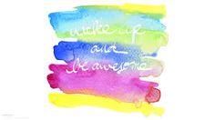 Resultado de imagem para watercolor desktop