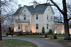 A Storybook Inn in Lexington, KY. A lovely bed and breakfast, in fact the finest one we have ever been to.