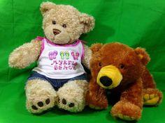 Myrtle Beach Build A Bear Teddybear  & Kohl's Care Teddybear Collectible Bears #Mixed