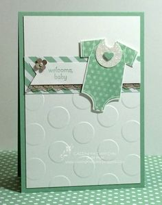 Stampin' Up! 'Something for Baby' Gender Neutral, Judy May - Just Judy Designs