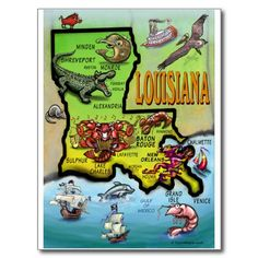 I live in Monroe, and I have lived in Baton Rouge. Northern and Southern Louisiana are two different countries in the same state in terms of culture and diversity. Louisiana Map, Louisiana History, Louisiana Homes, New Orleans Louisiana, Monroe Louisiana, Louisiana Creole, Morgan City, Lake Charles, Baton Rouge
