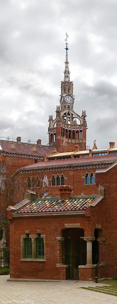 Hospital de Santa Creu i Sant Pau, Barcelona - Modernisme