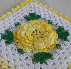 Thread Crochet Potholder