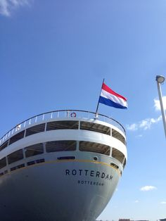 Rotterdam, Holland America Line, By Train, North Sea, Amazing Places, Netherlands, Boats, Ss, Europe