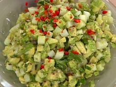 Cilantro-Avocado Potato Salad by Emeril Lagasse. Cooking Channel serves up this Cilantro-Avocado Potato Salad recipe from Emeril Lagasse plus many other recipes at CookingChannelTV.com