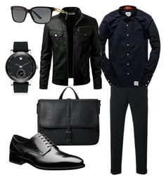 """Без названия #15"" by zuxrav on Polyvore featuring Comme des Garçons Homme, Movado, MANGO MAN, Superdry, Versace, men's fashion и menswear"