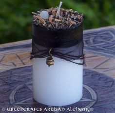 Witchcrafts Artisan Alchemy - CERIDWEN Lady of Spellcraft Inspiration Transformation ~ http://www.witchcraftsartisanalchemy.com/ceridwen-lady-of-spellcraft-inspiration-transformation-fusion-pillar-candle/