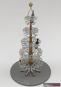 Wine Rack Tree - this would be an awesome decoration for my annual Cocktail Christmas Party
