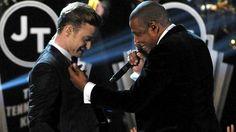 ANDPOP Justin Timberlake and Jay Z make Kanye West sad... SO funny