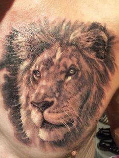 Lion tattoo love it