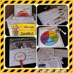 The Ultimate Guided Reading Toolkit with Guided Reading Lesson Plans.