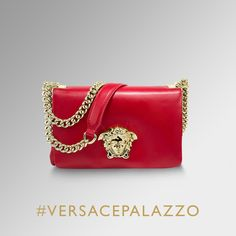 Rock chic appeal. Find more about the #VersacePalazzo bags on versace.com #Versace