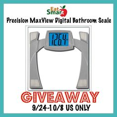 Blog post at Budget Earth :  Welcome to the EatSmart Precision MaxView Giveaway!  Whether you are looking to gain or lose, this high-tech gadget is an essential tool[..]
