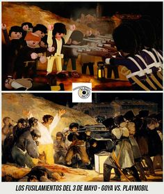 37 Obras de Arte Clasicas hechas con Playmobil / 37 Classical Artworks remakes with Playmobil Tableaux Vivants, Star Wars Personajes, Photoshop, Mayo, Fine Art, Picasso, Drawings, Artwork, Prints