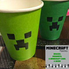 Twitchetts: MINECRAFT Munchies ~ Snacks, Desserts, a MINECRAFT Cake & More