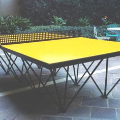 Ephemeralist Table Public Outdoor Ping Pong