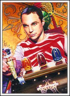 Big Bang Theory by DavidDeb.deviantart.com on @deviantART