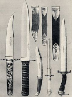 Bowie Knives and Daggers