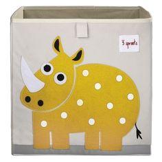 Dotty Hippo - 3 Sprouts Storage Box - Rhino - Cube Storage, £25.00 (http://www.dottyhippo.co.uk/3-sprouts-storage-box-rhino-cube-storage/)