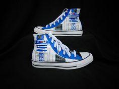 Star Wars R2D2 High Top Converse
