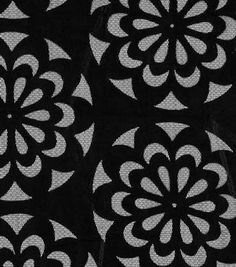 SUEDEsays Fabric-Lasercut Satin Black