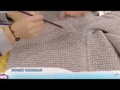Göz kamaştıran hırka yapımı – Derya Baykal - YouTube