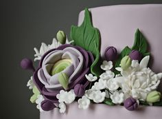 Flowers cake | Flickr - Photo Sharing!
