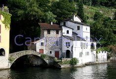 Old World Lake Como, Italy bicycled around this with Kader